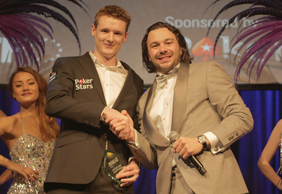 Best Online Cash Player and Player of the Year Alexander Millar