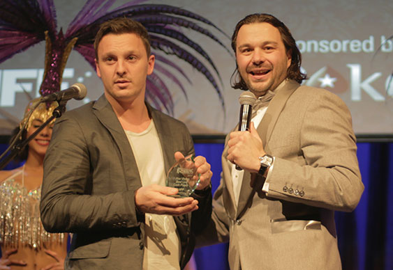 Best Live Tournament Player and Best Live Cash Player Sam Trickett