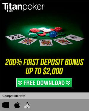 Online poker signup bonus
